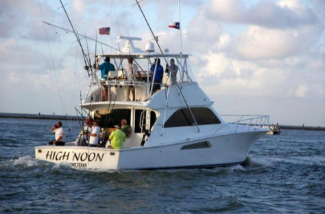 High noon sportfishing the hotel california of rockport for Rockport fishing charters